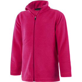 Color Kids Kilbur Fleece Jas Kinderen, camellia rose